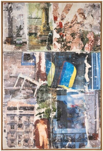 Robert Rauschenberg, 'Catastrophe (Arcadian Retreat)', 1996