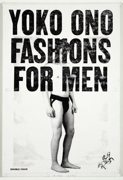 Skylar Fein, 'Yoko Ono Fashions for Men', 2013