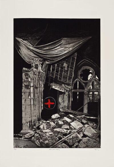 Marc Séguin, 'Ruine (Croix rouge)', 2010