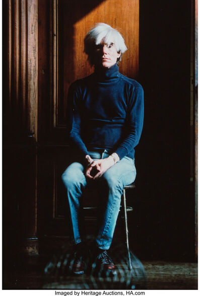 Richard Schulman, 'Andy Warhol, The Factory, NYC', 1984