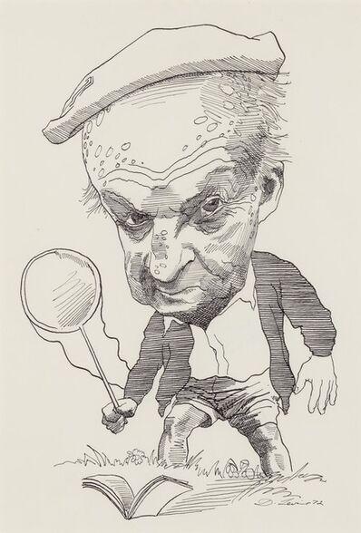 David Levine, 'Vladimir Nabokov', 1972