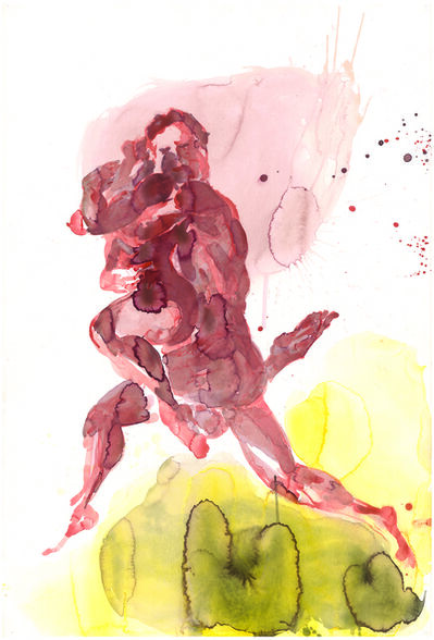 Eric Fischl, 'Untitled (The Red Couple)', 2013