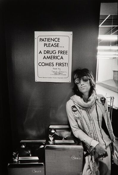 Ethan Russell, 'Keith Richards (Patience Please)', 1972