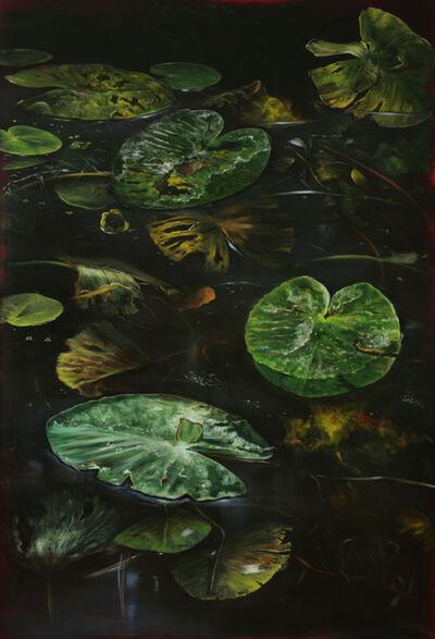 Helena Parada-Kim, 'Pond lilies II - right panel', 2018