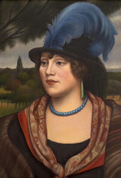 Mark Gertler, 'The Coster Woman', 1923