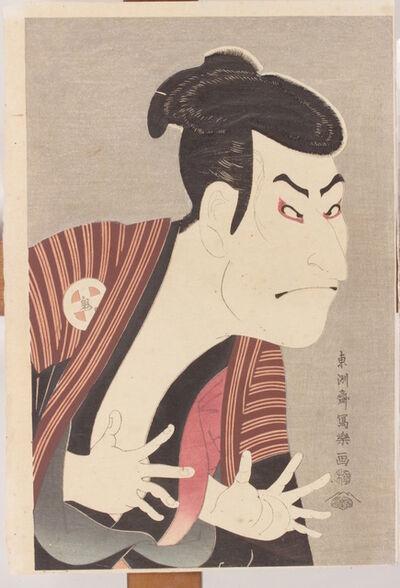 Toshusai Sharaku, 'The actor of Kabuki Ōtani Oniji III', Atozuri (XX Century) based on the original design of 1794