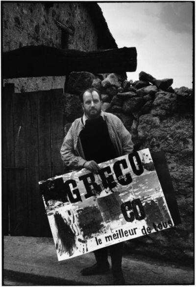 Alberto Greco, 'Alberto Greco en Piedralaves. Registro de performance', 1963-2006