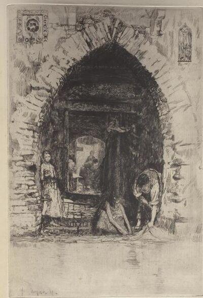 Otto Henry Bacher, 'Lavanderia', 1881