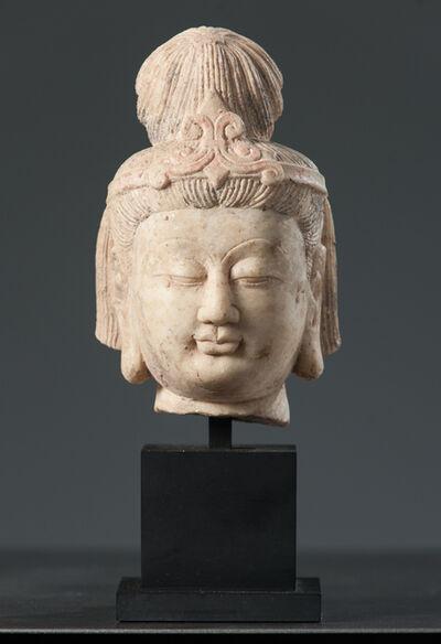 Unknown Asian, 'Head of Bodhisattva', 618-907