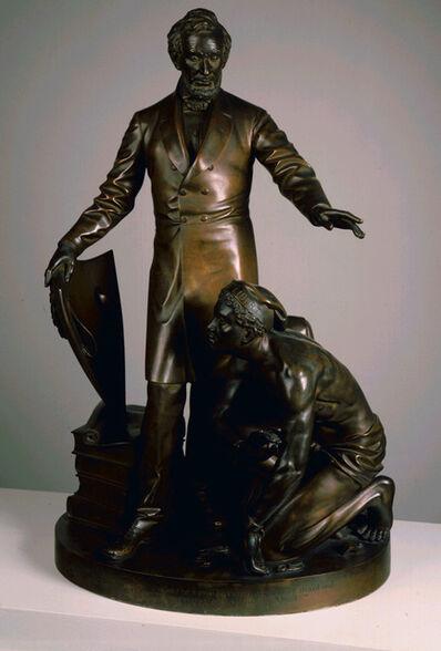 Thomas Ball, 'Emancipation Group', 1865