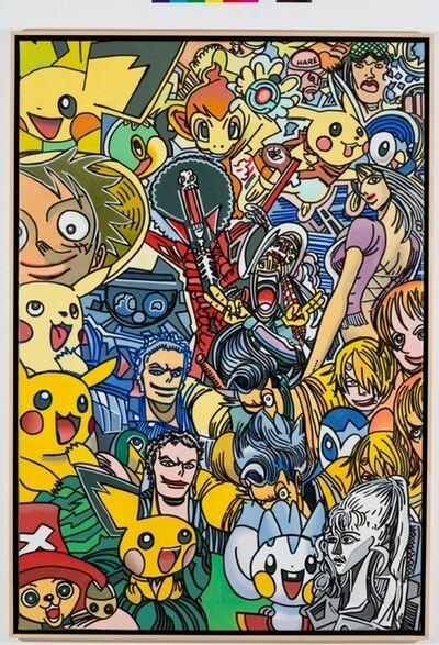 Erró, 'Lola in manga world', 2012