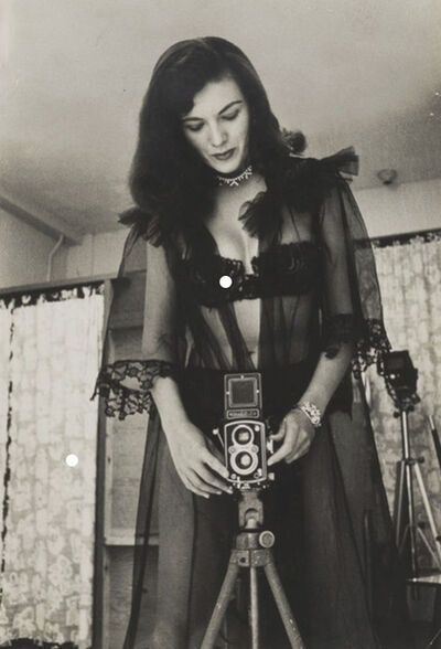 Bunny Yeager, 'Woman with Camera', 1955