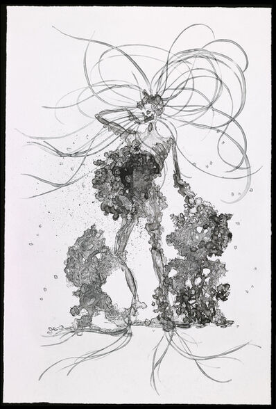 Matthew Ritchie, 'Detail:His Children, Her Garden, His Book, Her Country', 2009