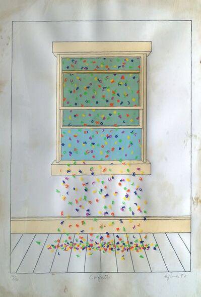 Patrick Hughes, 'Confetti', 1983