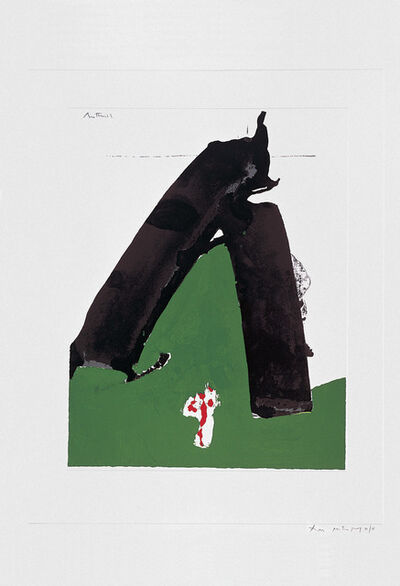 Robert Motherwell, 'The Basque Suite: Untitled (ref. 88)', 1971