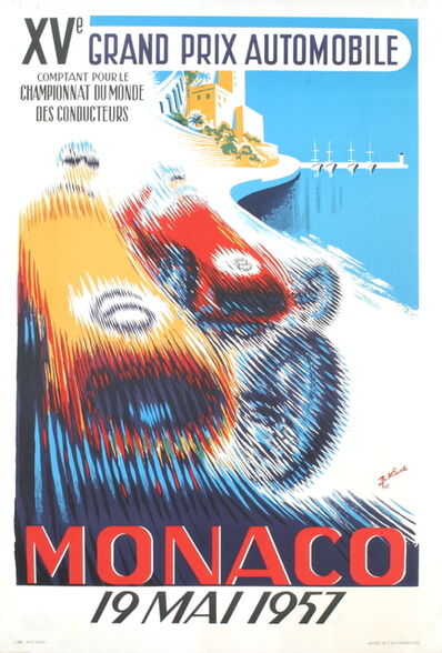 B. Minne, 'Monaco Grand Prix 1957', 1995