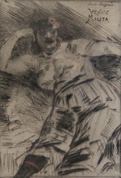 Félicien Rops, 'VENUS MILITA'