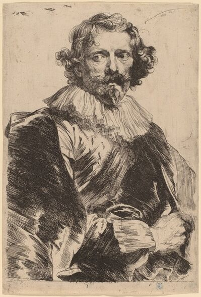 Anthony van Dyck, 'Lucas Vorsterman', probably 1626/1641
