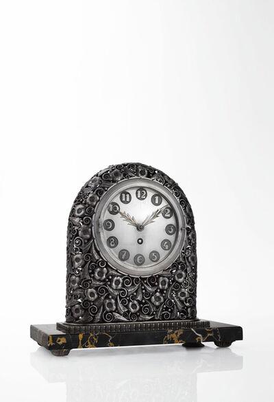 Edgar Brandt, 'Mantle Clock', circa 1923-1926