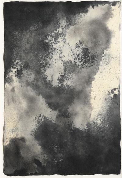 Joe Goode, 'Blue Earth (Tornado Drawing #61)', 1991