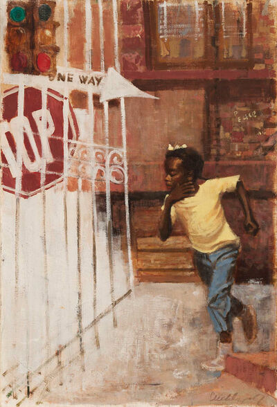 Ernest Crichlow, 'Untitled (One Way)', 1967