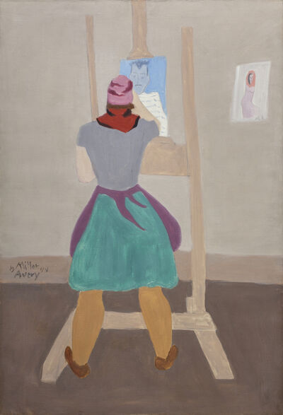 Milton Avery, 'Female Artist', 1945