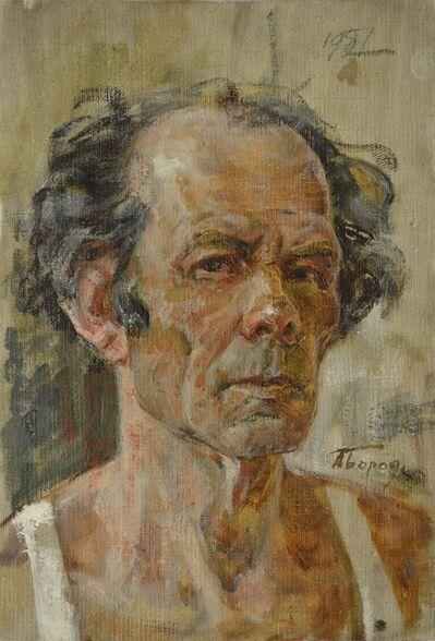 Aleksey Ivanovich Borodin, 'Self portrait', 1966