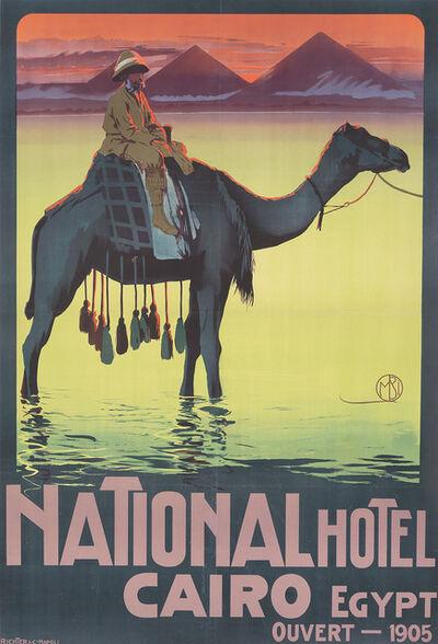 Mario Borgoni, 'National Hotel Cairo.', ca. 1905