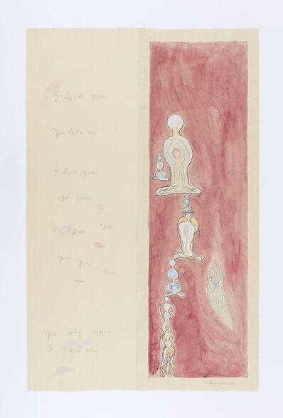 Louise Bourgeois, 'I Love You, You Love Me', 2007