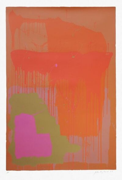 John Hoyland, '25.12.71', 1972