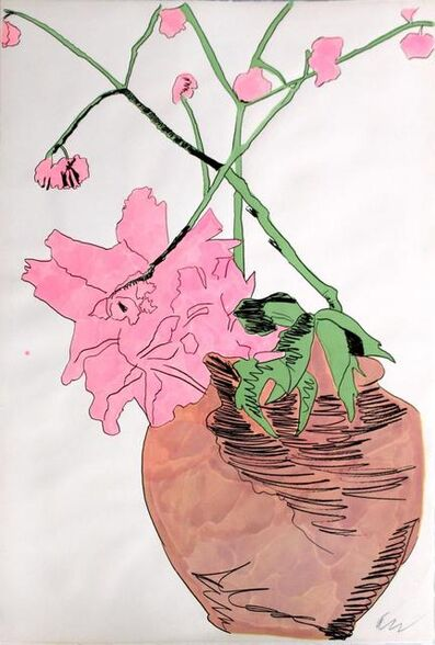 Andy Warhol, 'Flowers (Hand Colored)', 1974