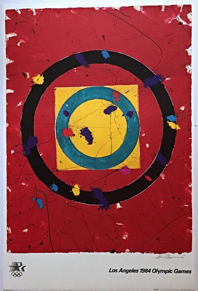 Sam Francis, 'Los Angeles Olympic Games 1984 with COA from Olympic Committee', 1982