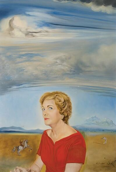 Salvador Dalí, 'Portrait of Ruth Lachman', 1961