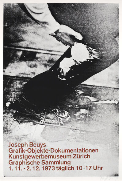 Joseph Beuys, 'Graphik - Objekte - Dokumentationen', 1973