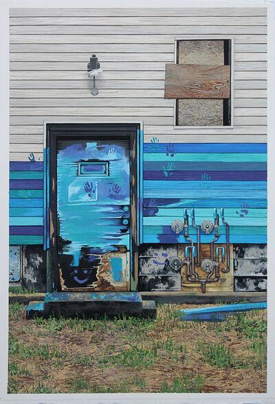 Jessica Hess, 'Detroit Blues Door', 2020