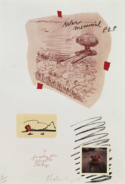 Claes Oldenburg, 'Notes (P.O.P.)', 1968
