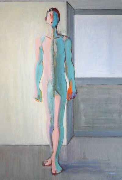 Charles Swisher, 'Kouros, Yellow Wall', 2014