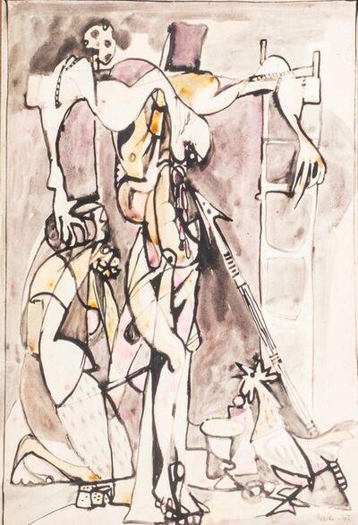 Mirko, 'Crucifixion', 1947