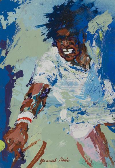 LeRoy Neiman, 'Yannick Noah', 1989