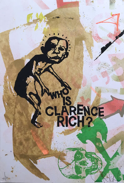 Clarence Rich, 'Who is Clarence Rich', 2017
