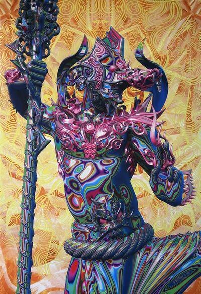 Taketo Kobayashi (aka humanoise), 'Mindmelt - Sarutahiko', 2020