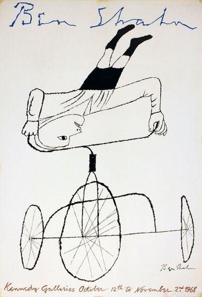Ben Shahn, 'Kennedy Galleries', 1968