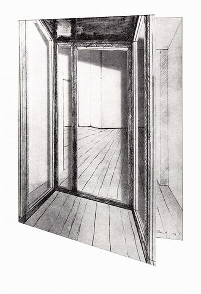 Javacheff Christo, 'Store Front Corridor two parts', Unknown