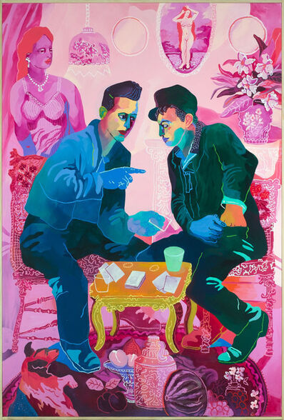 John Holcomb, 'Poker Face', 2018