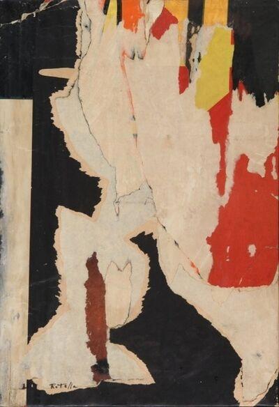 Mimmo Rotella, 'Verticale colorato', 1975