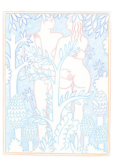 ALPHACHANNELING, 'The bundant garden', 2016
