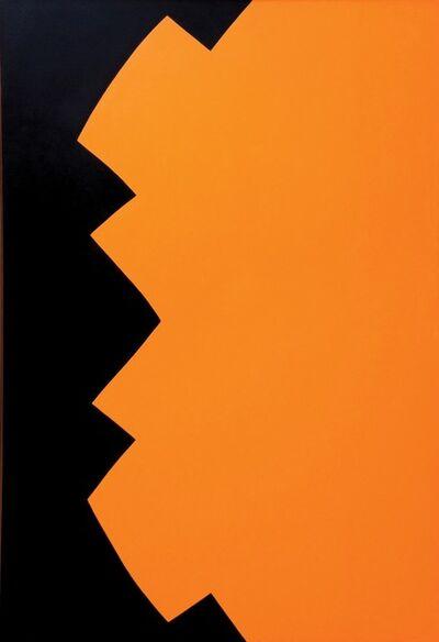 Leon Polk Smith, 'Correspondence Black Yellow', 1963