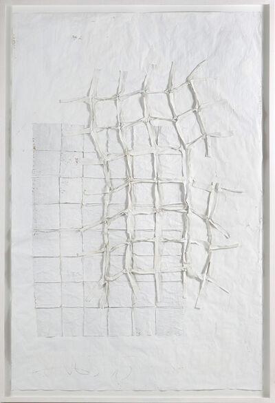 Herbert Zangs, 'Schnittfaltung', 1976
