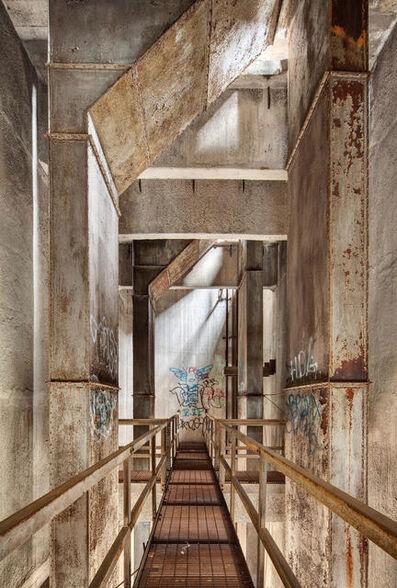 Darris Lee Harris, 'Upper Catwalk Damen Grain Silo #17'