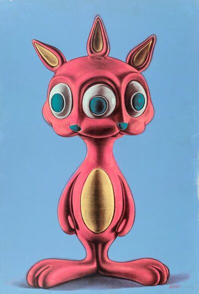 Ron English, 'Rabbbit #3'